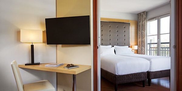 Book A Room At Relais Spa Val D Europe Aparthotel Close To